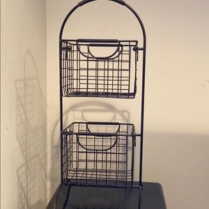 LIKE NEW Tiered Basket Stand